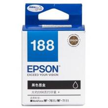 Epson Original Ink : T188 Black : Hight Yield : 2400pgs : C13T188190 :