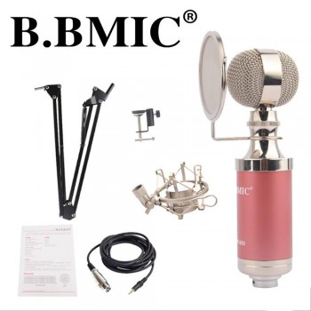 B. BMIC Bottle Condenser Microphone - Red (Set)