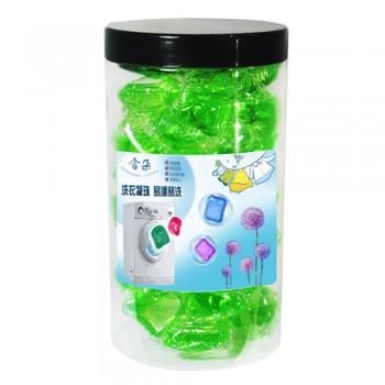 Laundry Detergent Gel Pods 30pcs - 4 bottles (Random Color)