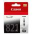 Canon CLI-821 Black Ink Cartridge - 9ml