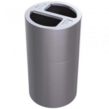 Alumin RecycleBin 2Compart LD-RECYCLE-01
