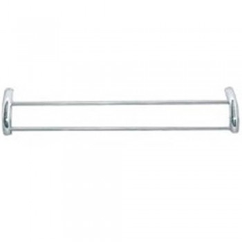 Stainless Steel 2pc Half 'U' Towel Rack - STR-4528 (Item No:F15-09)