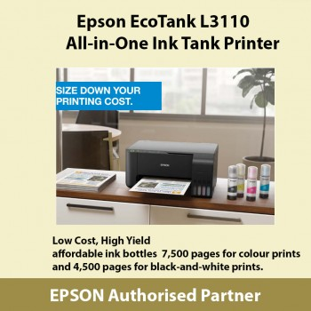 Epson EcoTank L3110 All-in-One Ink Tank Printer Next Stock after 15/8
