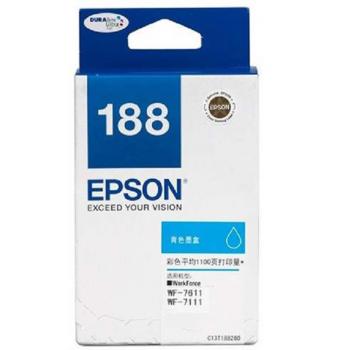 Epson Original Ink : T188 Cyan : Hight Yield : 2200pgs : C13T188290 :