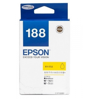 Epson Original Ink : T188 Yellow : Hight Yield : 2200pgs : C13T188490 :