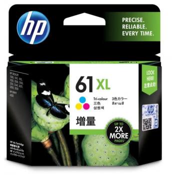 HP 61XL Tri-Color Cartridges CH564WA