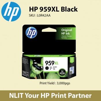 HP 959XL High Yield Black Original Ink Cartridge L0R42AA