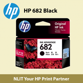 HP 682 Black Ink Cartridge (3YM77AA)