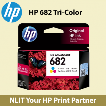 HP 682 Tri-color Ink Cartridge (3YM76AA)