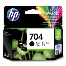 HP 704 Black Original Ink Advantage Cartridge SKU CN692AA