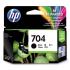 HP 704 Black Original Ink Advantage Cartridge SKU CN692AA