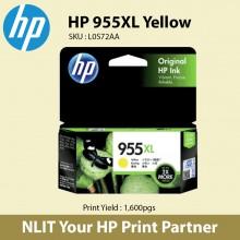 HP 955XL High Yield Yellow Original Ink Cartridge L0S69AA