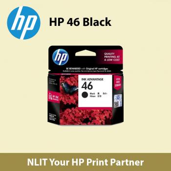 HP 46 Black Ink Cartridge (CZ637AA) Max 2 unit Per Customer - Free Delivery