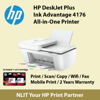 HP DeskJet Plus Ink Advantage 4176 All-in-One Printer  (Shortage Items) : Limited 1 unit per Customer