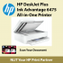 HP DeskJet Plus Ink Advantage 6475 All-in-One Printer - come with 682 black and 682 color one set Exstock