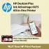 HP DeskJet Plus Ink Advantage 6075 All-in-One Printer