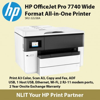 HP OfficeJet Pro 7740 Wide Format All-in-One Printer Best Selling A3 Printer