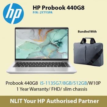 HP ProBook 440 G8 2Y7Y5PA   (i5-11350U / 8GB DDR4 / 512GB SSD / W10P/1Year)