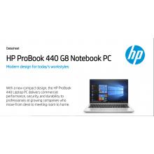 HP ProBook 440 G8 2Y7Y7PA   (i7-11650U / 16GB DDR4 /512GB SSD / W10P) Exstock
