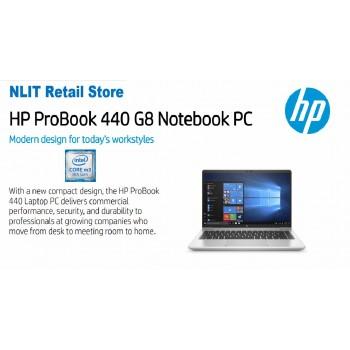 HP ProBook 440 G8 2Y7Y5PA   (i5-11350U / 8GB DDR4 / 512GB SSD / W10P/3 Yrs onsite )  Exstock -