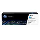 HP Original Toner : HP 201A Cyan : Std : 1,330pgs : CF401A :  2 Years Direct HP Warranty