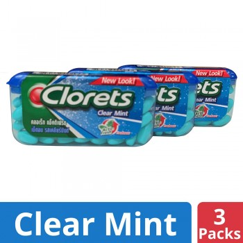 Clorets Actifresh Clear Mint (35's x 3)