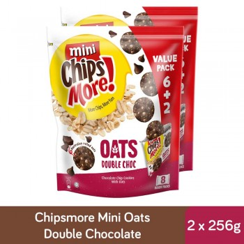 Chipsmore Oats Double Chocolate Multipack (224g x 2)