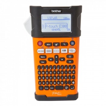 Brother PT-E300VP - Industrial Handheld Labeling Tool With Rechargeable Li-ion Battery