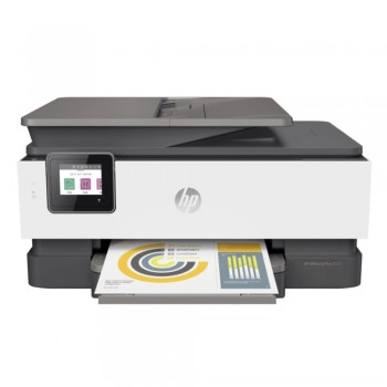 HP Officejet Pro 8020 All-In-One Printer Set + (12 Cartridges ) 8 Pcs XL + 4 Standard Cartridges