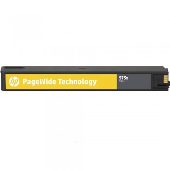 HP 975X Yellow Original PageWide Cartridge (L0S06AA)