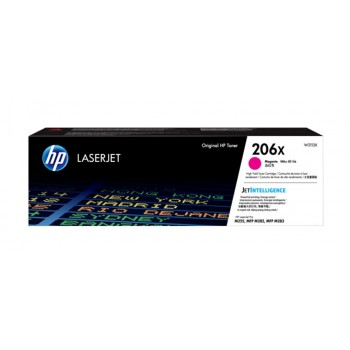 HP 206X Magenta Original LaserJet Toner Cartridge (New)