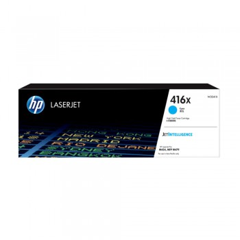 HP 416X High Yield Cyan Original LaserJet Toner Cartridge