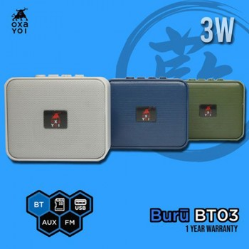 OXA Buru BT03 Speaker - Blue