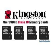 Kingstone MicroSDHC Card  - Class 4  MicroSDC4 32GB
