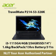 Acer TravelMate P214-53-328k i3/4GB/256GBSSD/W10P