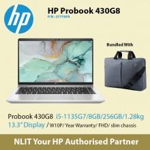 """HP ProBook 430 G8 2Y7Y6PA   (i5-1135G7 / 8GB DDR4 / 256GB SSD / 13.3"""" Display/ 1.28Kg/ W10P/1Yr Warranty ) Exstock"""