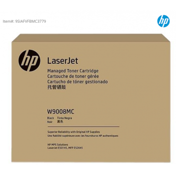 HP ORIGINAL W9004MC BLACK MANAGED LASERJET TONER CARTRIDGE -23000 PAGES