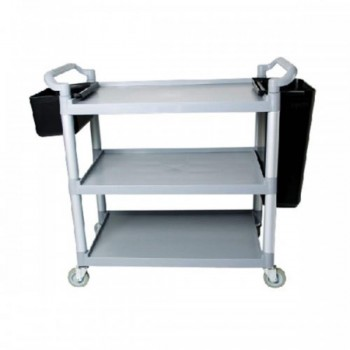 3 Tiers Utilities Cart C/W Buckets - Small 3UC-604