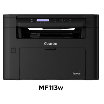 Canon imageCLASS MF MF113w Wireless Laser Multifunction Printer - Monochrome - Copier/Printer/Scanner -