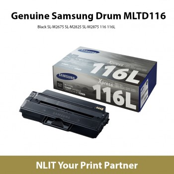 SAMSUNG Cartridge MLT-D116L (Genuine) Black SL-M2675 SL-M2825 SL-M2875 116 116L