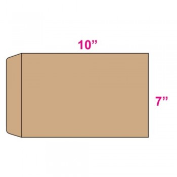 Brown Envelope - Manila - 7-inch x 10-inch