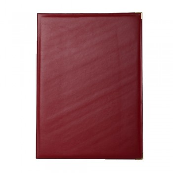 1170A Certificate Holder (with sponge) - Maroon