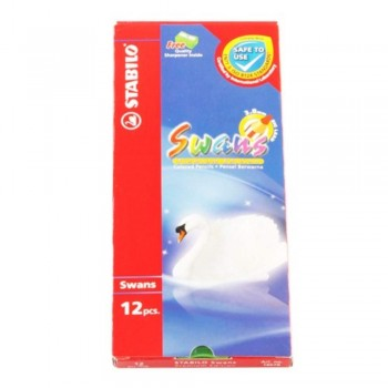 Stabilo 1867B Colour Pencil-12L (Item No: B05-20) A1R2B148
