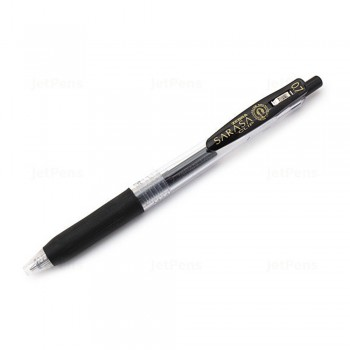 Zebra Sarasa Push Clip Gel Pen 0.7mm Black
