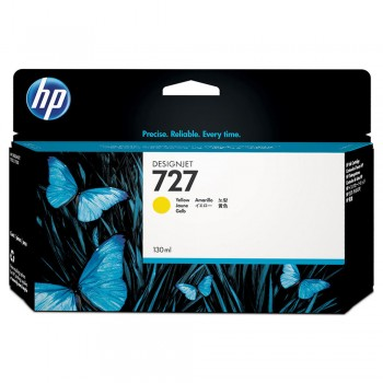 HP 727 130-ml Yellow Designjet Ink Cartridge (B3P21A)