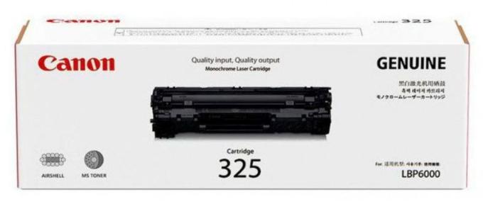 Canon 325 Black Toner