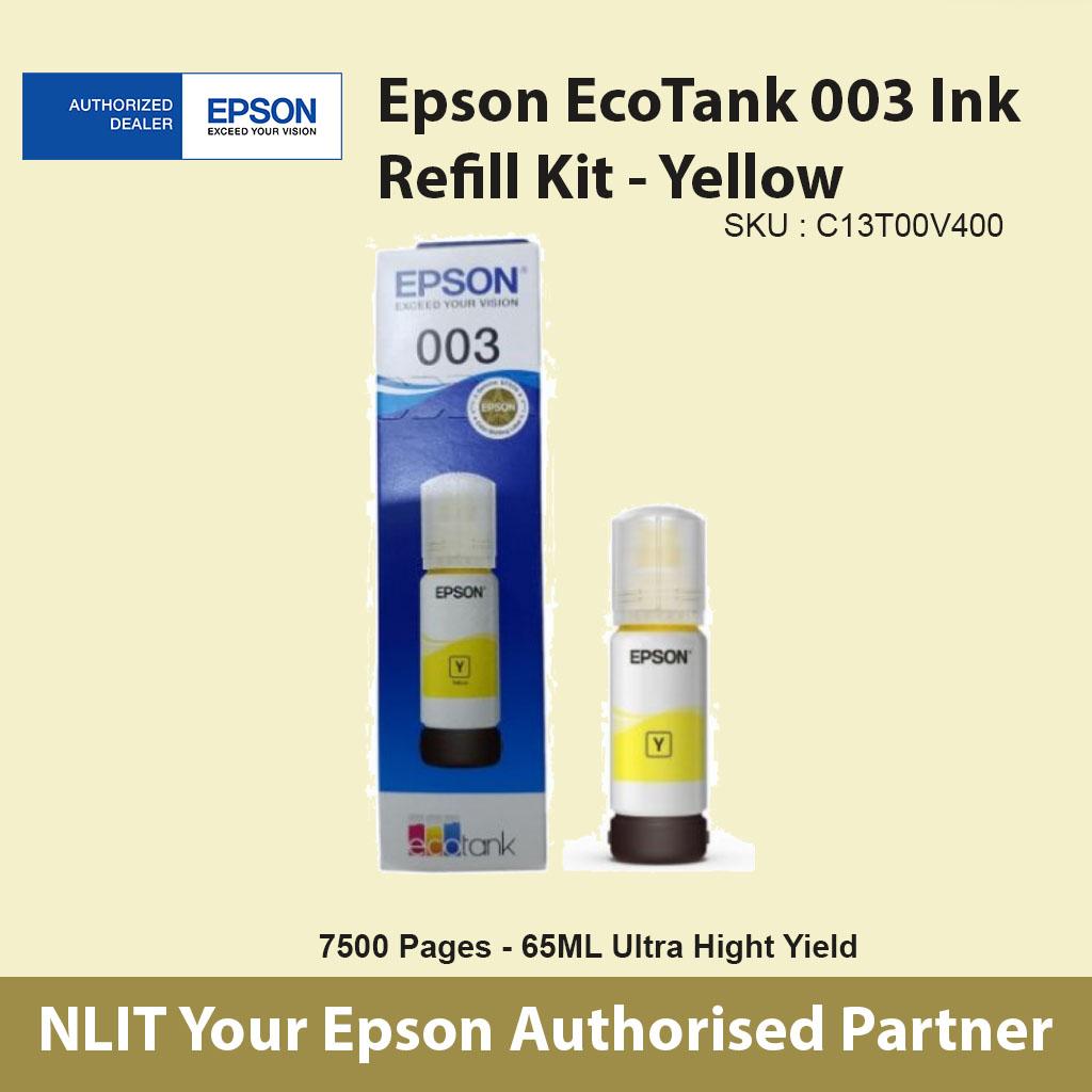 Epson EcoTank 003 Yellow - C13T00V300