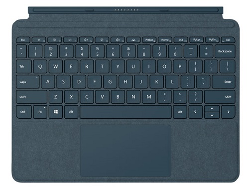 Surface Go - Signature Type Cover Commer - Cobalt Blue
